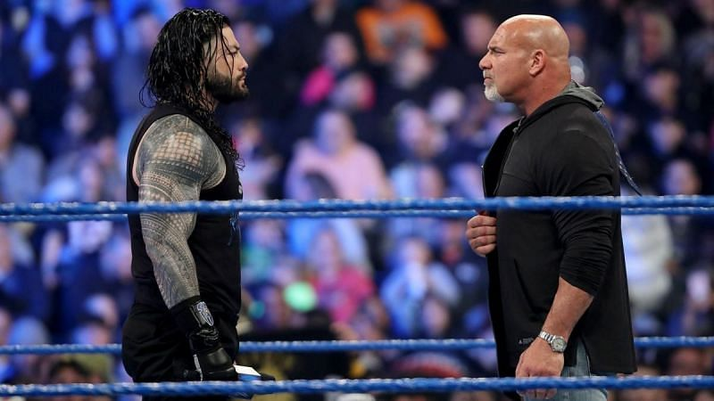 WWE SmackDown: 5 Reasons why Roman Reigns is Goldberg's Universal Championship opponent at WrestleMania