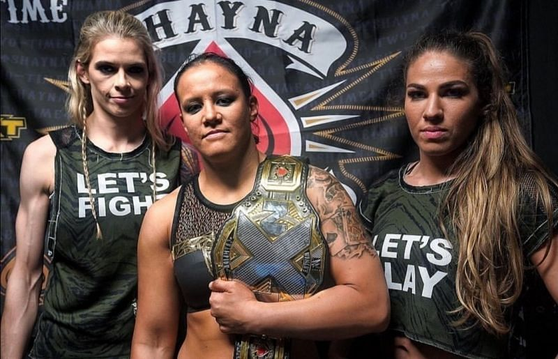 With Baszler heading to Elimination Chamber, what becomes of Shafir and Duke?