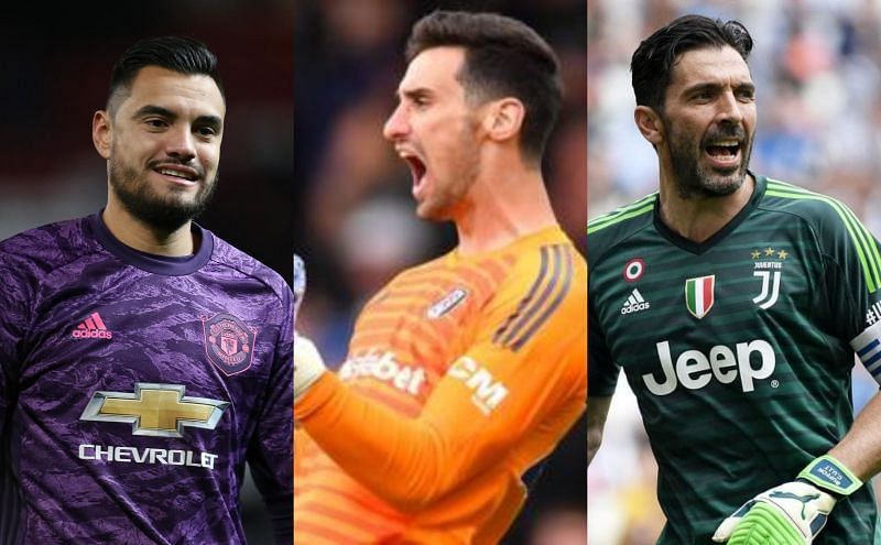 Many top goalkeepers are currently benchwarmers at their clubs