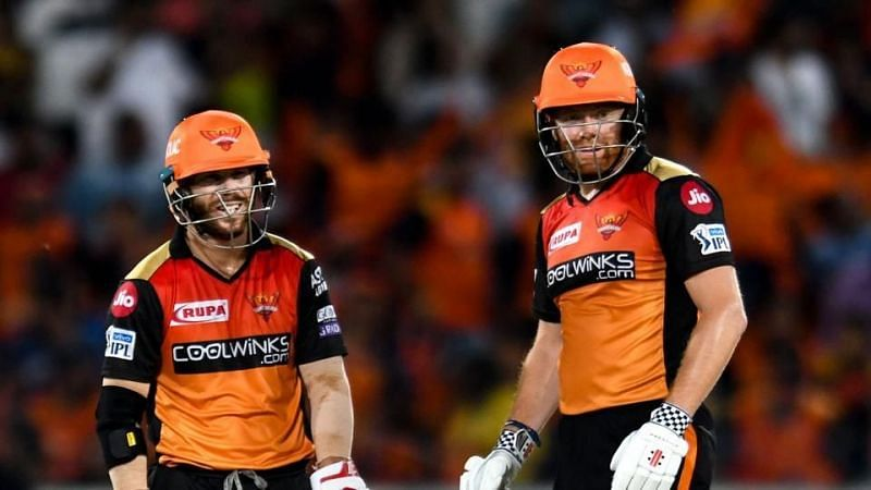Warner and Bairstow annihilated bowling attacks in IPL 2019