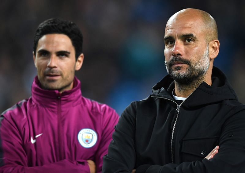 Mikel Arteta and Guardiola developed a strong working relationship