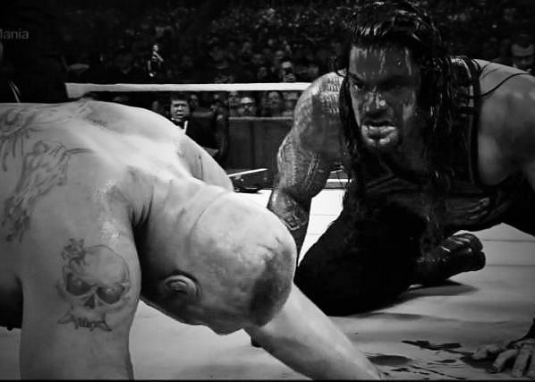 Reigns vs Lesnar