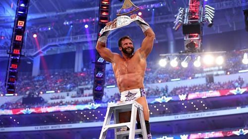 Zack Ryder won the Intercontinental Championship in a ladder match at WrestleMania 32