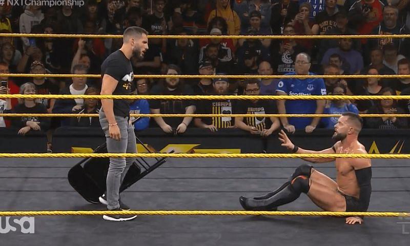 Finn Balor vs Johnny Gargano