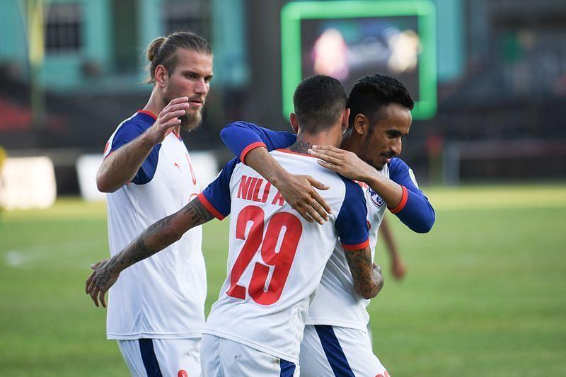 Bengaluru FC went down 2-1 to Maziya S&RC