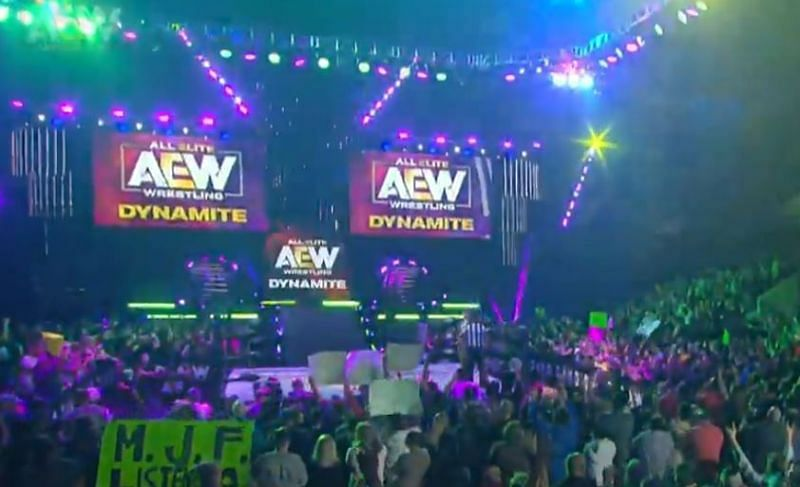 Raven was spotted during AEW Dynamite