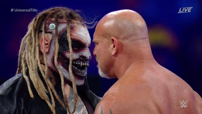 What does WWE do next with The Fiend after his loss to Goldberg?