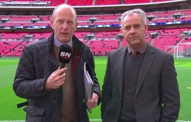 Peter Drury and Jim Beglin are arguably the best commentating partnership in football right now