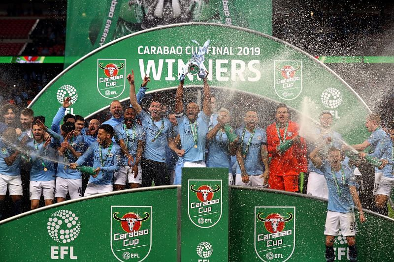 Manchester City will look to retain the Carabao Cup when they take on Aston Villa this weekend