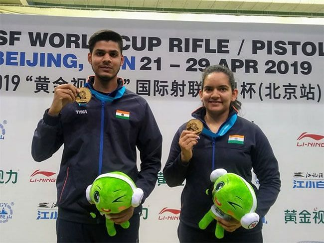 Divyansh Singh Panwar and Anjum Moudgil