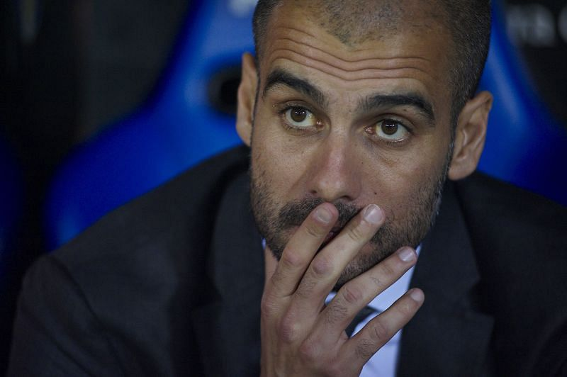 Guardiola eventually suffered under the weight of expectation at Barcelona