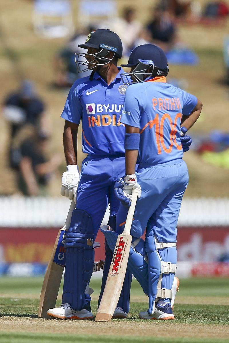 Both Shaw and Agarwal were handed their ODI debut in the first ODI