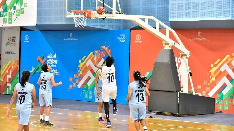 KIYG 2020 basketball match