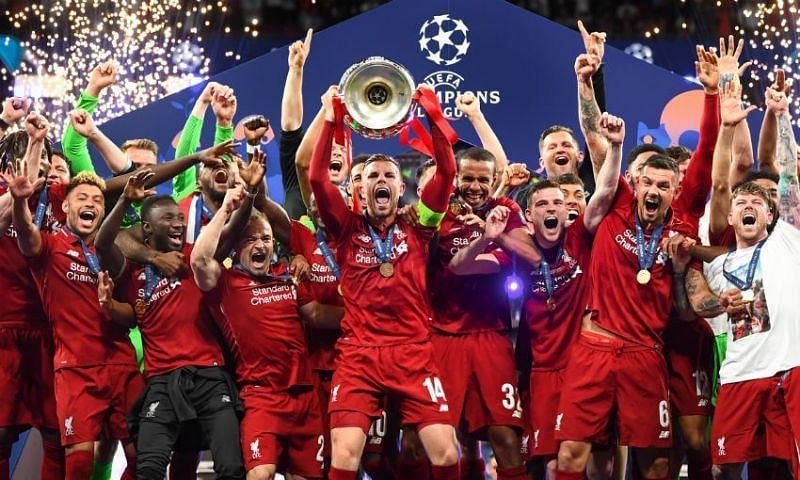 Liverpool won the 2018-19 Champions League