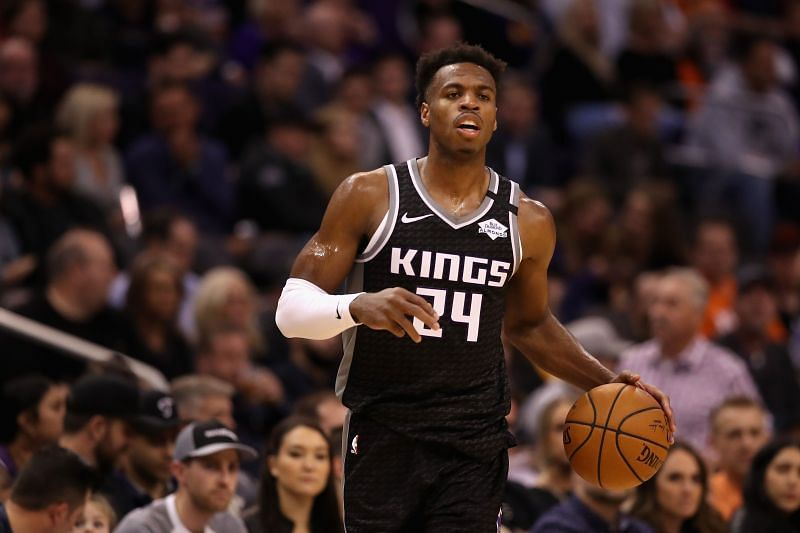 Buddy Hield won the 3 point contest during the All-Star Weekend