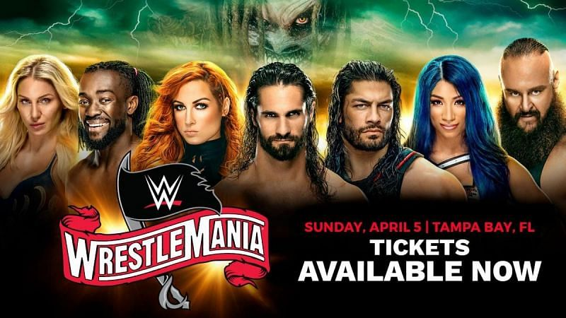 Which BIG matches have been changed for WrestleMania 36? (Pic Source: WWE)