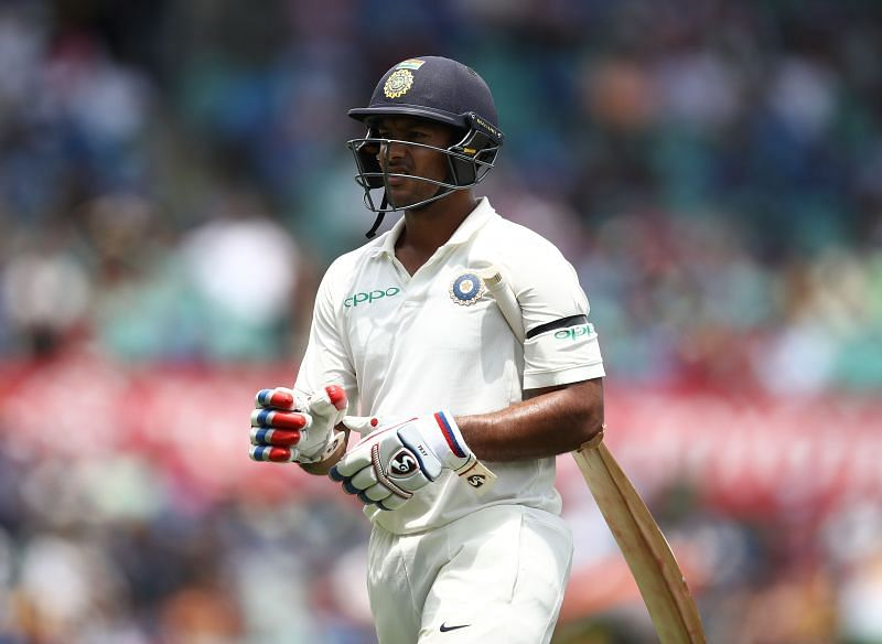 Mayank Agarwal is under pressure for the first time in his Test career