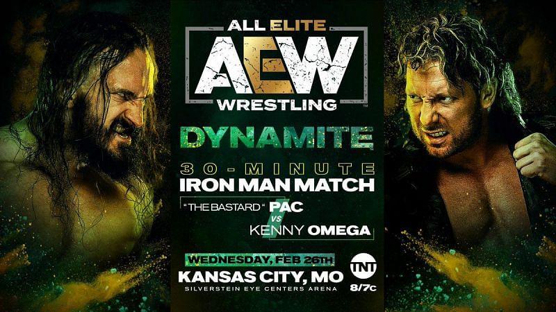 Amassive Iron Man match will take place on tonight