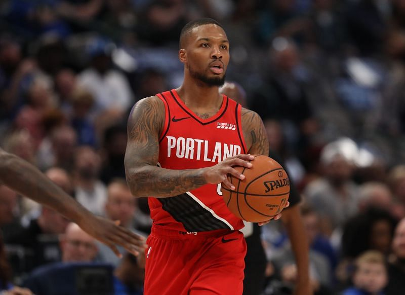 Damian Lillard missed the All-Star Game due to injury