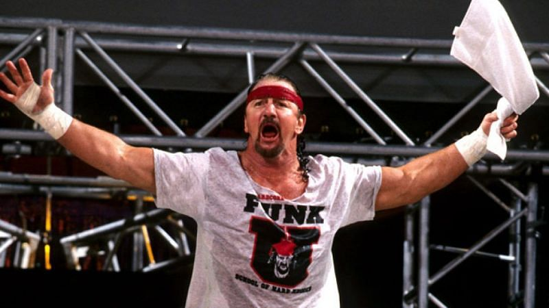 Hardcore legend Terry Funk won the NWA and ECW World title but never in WWE