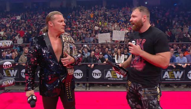 Chris Jericho and Jon Moxley