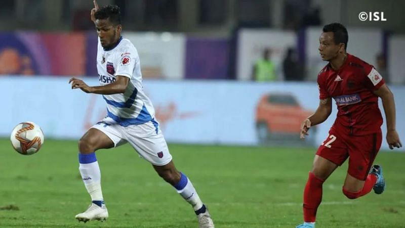 Odisha FC took away all 3 points against NorthEast United FC. (Image: ISL)