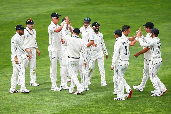 न्यूजीलैंड ने भारत को शुरूआती झटके दिए