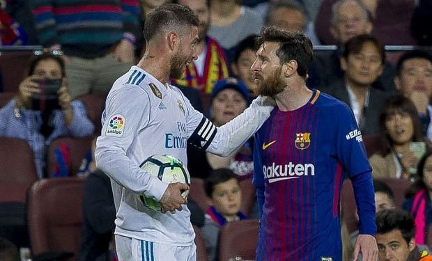 Messi served Ramos a taste of his own medicine