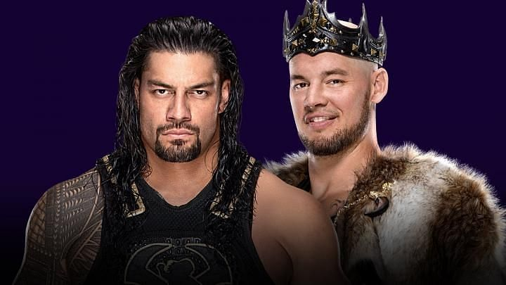 Reigns and Corbin will meet in a Steel Cage