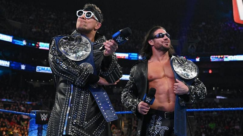 W WE made a brilliant decision by having the titles defended at Elimination Chamber