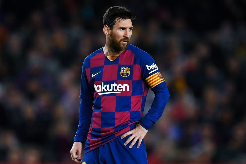 Messi missed a good chance late on