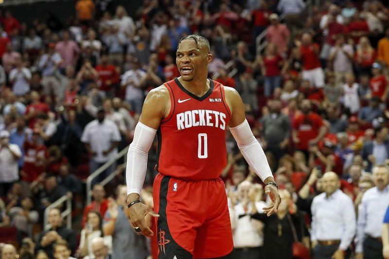 The Houston Rockets host the New York Knicks