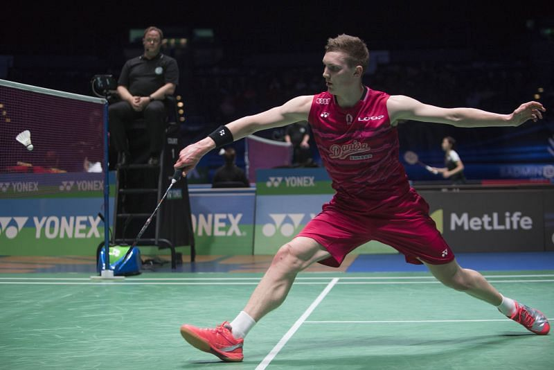 Axelsen was in ruthless form in the quarterfinal