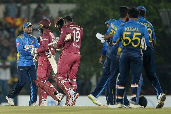 श्रीलंका और वेस्टइंडीज