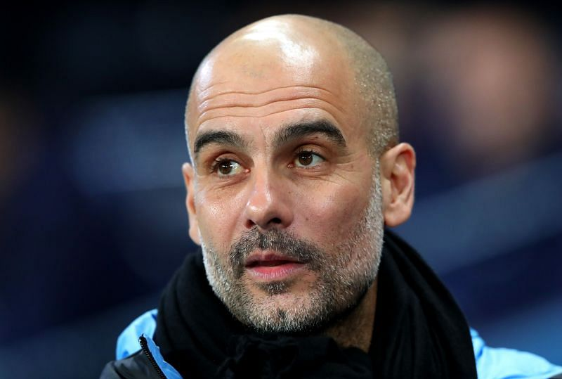 Pep Guardiola has reiterated that he wil stay at the club