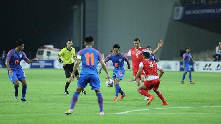 India is ranked 108 in FIFA rankings whereas Tajikistan is ranked 121