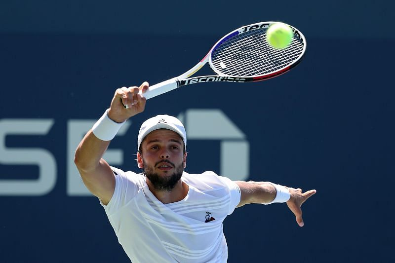 Grégoire Barrère has had encouraging results in Grand Slam events recently