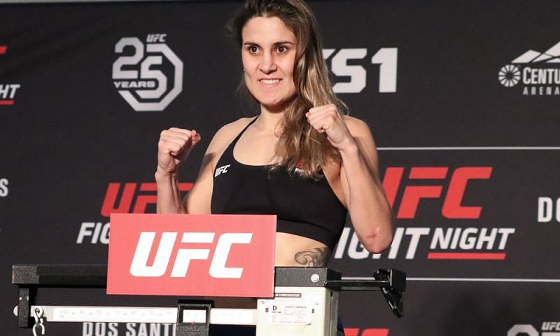 Jennifer Maia will look to secure a win upon her return to the Octagon