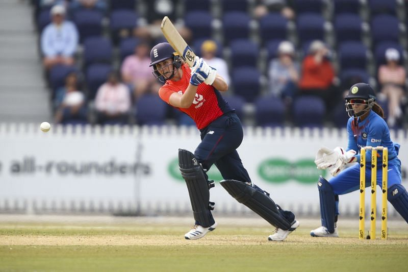 Natalie Sciver played an important knock of 50 in just 38 balls which helped England chase down the target