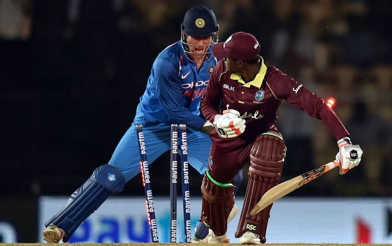 This stumping of Keemo Paul took Dhoni a mere 0.08 seconds