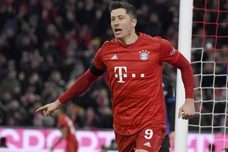 Robert Lewandowski can fire Bayern Munich in front whenever he receives the ball in the box.