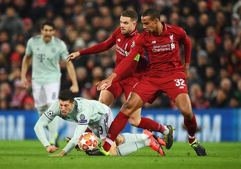 Liverpool turned up the heat on Bayern to eliminate them from last season