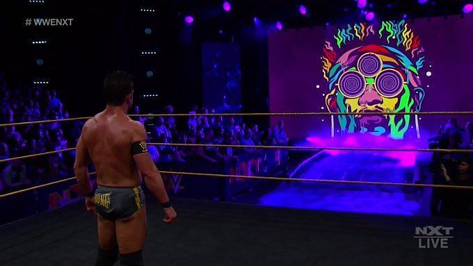 Roderick Strong is haunted by Velveteen Dream