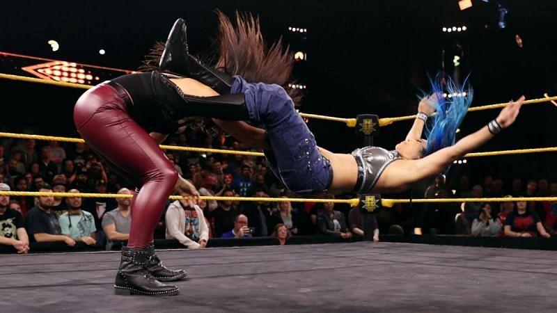Gonzalez displayed her strength freely