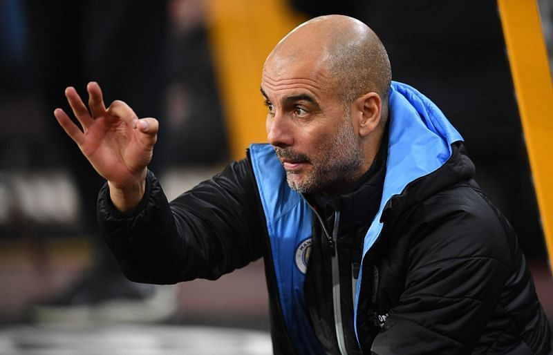 Pep Guardiola has won two Premier League titles at Manchester City.