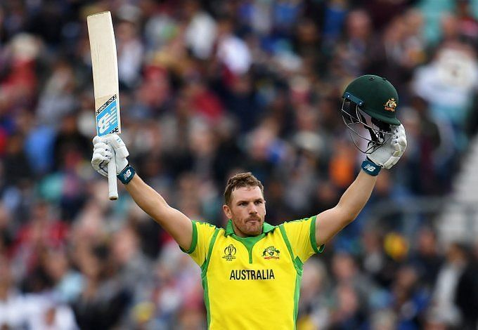 Aaron Finch continued his scintillating limited-overs form at the top