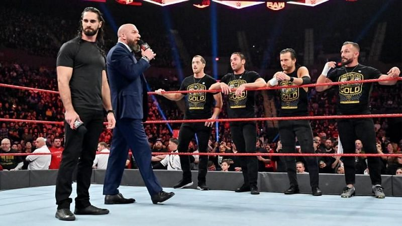 सैथ और NXT सुपरस्टार्स