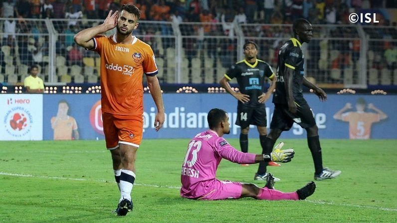 Hugo Boumous has 9 goals and 8 assists for Goa this season
