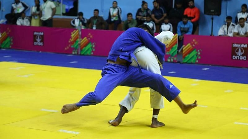 Judo competitions came to an end at the Khelo University Games 2020