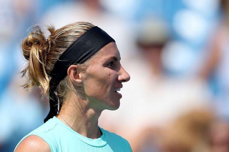 Svetlana Kuznetsova had a good win over Jennifer Brady in the opening round.